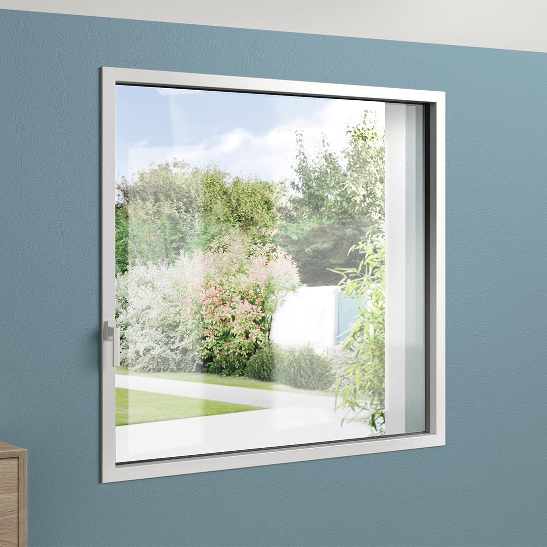 Fenêtre acier et aluminium