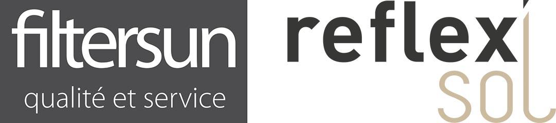 Logos Filtersun et Reflexsol